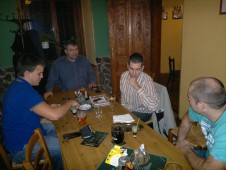 Schůze 2.12.2011 - křest dresu