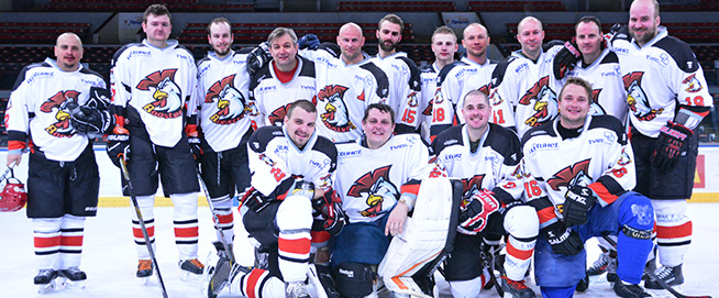Roosters - Prague amateur ice hockey team